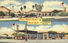 rds001072 - Falfurrias, Texas USA Park Hotel Courts & Park Grill Road Side Postcard Post Cards