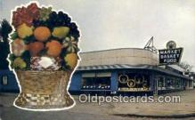 rds001080 - Detroit, Michigan USA Market Basket Food Inc. Road Side Postcard Post Cards