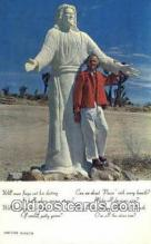 rds001084 - Yucca Valley, California USA Desert Christ Shrine Road Side Postcard Post Cards