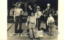 rea004003 - Tex Brown & His Little Buckaroos Real Photo Postcard Postcards