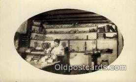 rea005023 - Interior Medicine, Real Photo Postcard Postcards