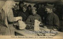 red001058 - From an American Red Cross L.O.C. Canteen In France Red Cross Postcard Postcards