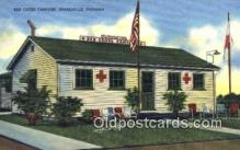 red001093 - Red Cross Canteen, Evansville, IN, USA Red Cross Postcard Postcards