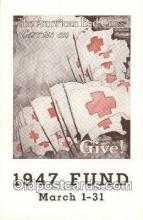 red001101 - 1947 Fund Campaine Red Cross Postcard Postcards