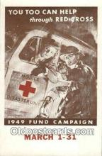 red001103 - 1949 Fund Campaine Red Cross Postcard Postcards