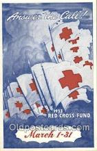 red001109 - 1953 Fund Campaign Red Cross Postcard Postcards