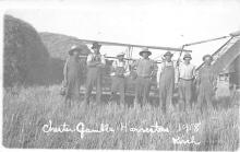 rep010006 - Chester Gamble Harvesters 1918 Real Photo Postcard Postcards