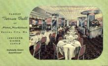 res001022 - Terrace Grill of Hotel Muehlebach, Kansas City, Mo, USA, Restaurant, Diner Postcard Postcards