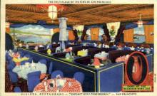 res001023 - Riviera, San Francisco, California USA, Restaurant, Diner Postcard Postcards