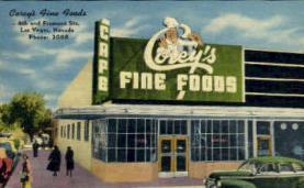 res001024 - Corey's Fine Foods, Las Vegas, Nevada, USA, Restaurants, Diners Postcard Postcards