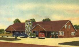 res001027 - El Rancho, Flint, Michigan, USA, Restaurants, Diners Postcard Postcards
