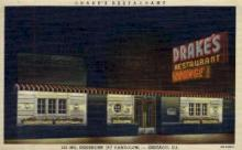 res001028 - Drakes Lounge, Chicago, Ill, USA, Restaurants, Diners Postcard Postcards