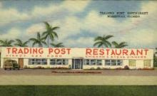res001034 - Trading Post, Homestead, Florida, USA, Restaurants, Diners Postcard Postcards