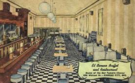 res001036 - El Sereno, Kansas City, Mo, USA, Restaurants, Diners Postcard Postcards