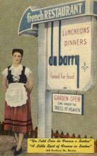 res001040 - Du Barry, Boston, Mass, USA, French Restaurants, Diners Postcard Postcards