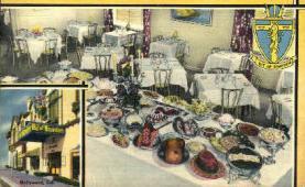 res001052 - Bit of Sweden Hollywood, CA, USA Postcard Post Cards Old Vintage Antique