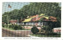 res001054 - Angelo's Place Gulfport, MS, USA Postcard Post Cards Old Vintage Antique
