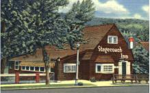 res001058 - Stagecoach Inn Manitou Springs, CO, USA Postcard Post Cards Old Vintage Antique