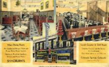 res001085 - Shadburn's - Linen Colorado Springs, CO, USA Postcard Post Cards Old Vintage Antique