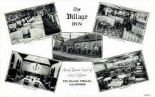 res001086 - The Village Inn Colorado Springs, CO, USA Postcard Post Cards Old Vintage Antique