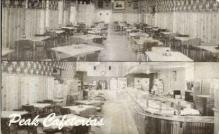 res001090 - Peak Cafeterias Manitou Springs, CO, USA Postcard Post Cards Old Vintage Antique
