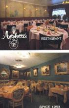 res001114 - Antolotti's Restaurant New York City, USA Postcard Post Cards Old Vintage Antique