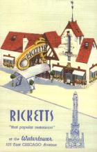res001116 - Rickett's  Postcard Post Cards Old Vintage Antique