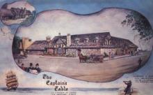 res001125 - Captain's Table Los Angeles, CA, USA Postcard Post Cards Old Vintage Antique