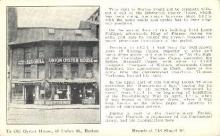 res001126 - Ye Old Oyster House Boston, MA, USA Postcard Post Cards Old Vintage Antique