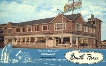 res001127 - Fish Shanty Restaurant Port Washington, WI, USA Postcard Post Cards Old Vintage Antique