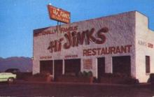 res001129 - Hi Jinks Restaurant Sal Lake City, UT, USA Postcard Post Cards Old Vintage Antique