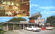 res001134 - Apple Tree Inn Restaurant Pigeon Forge, TN, USA Postcard Post Cards Old Vintage Antique