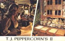 res001163 - TJ Peppercorn's II Commerce, CA, USA Postcard Post Cards Old Vintage Antique