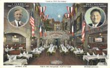 res001165 - Paris Inn Café Los Angeles, CA, USA Postcard Post Cards Old Vintage Antique