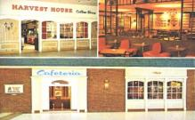 res001168 - Harvest House Cafeterias & Coff Shops USA, Canada Postcard Post Cards Old Vintage Antique