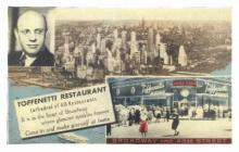 res001170 - Toffenetti Restaurant New York, USA Postcard Post Cards Old Vintage Antique