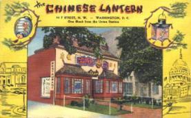 res001177 - Chinese Lantern, Washington, USA Restaurant & Diner Postcard Postcards