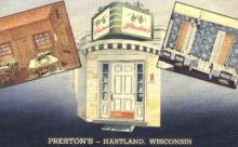 res001180 - Preston's-Hartland, Wisconsin, USA Restaurant & Diner Postcard Postcards