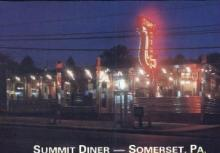 res001197 - Summit Diner, Somerset, Pa, USA Restaurant & Diner Postcard Postcards
