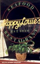res001218 - Sloppy Louie's Restaurant New York City, USA Postcard Post Cards Old Vintage Antique