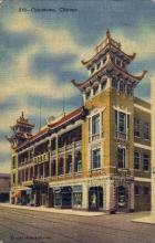 res001220 - Chinatown Chicago, IL, USA Postcard Post Cards Old Vintage Antique
