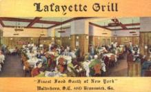res001245 - Lafayette Grill Brunswick, GA, USA Postcard Post Cards Old Vintage Antique