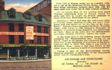 res001251 - Ye Olde Oyster House Boston, MA, USA Postcard Post Cards Old Vintage Antique