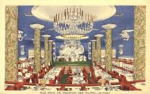 res001254 - Blue Room, The Roosevelt New Orleans, LA, USA Postcard Post Cards Old Vintage Antique
