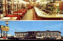 res001255 - Circle Diner Flemington, NJ, USA Postcard Post Cards Old Vintage Antique