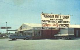 res001259 - Turner's Gift Shop Franklin, KY, USA Postcard Post Cards Old Vintage Antique