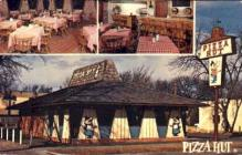 res001282 - Pizza Hut  Postcard Post Cards Old Vintage Antique