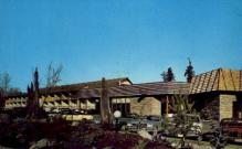res001287 - Thunderbird Motel & Restaurant Bellevue, WA, USA Postcard Post Cards Old Vintage Antique