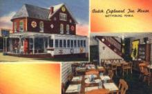 res001288 - Dutch Cupboard Tea House Gettysburg, PA, USA Postcard Post Cards Old Vintage Antique