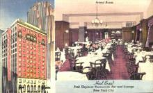res001292 - Hotel Bristol, Pink Elephant Restaurant, Bar & Lounge New York City, USA Postcard Post Cards Old Vintage Antique